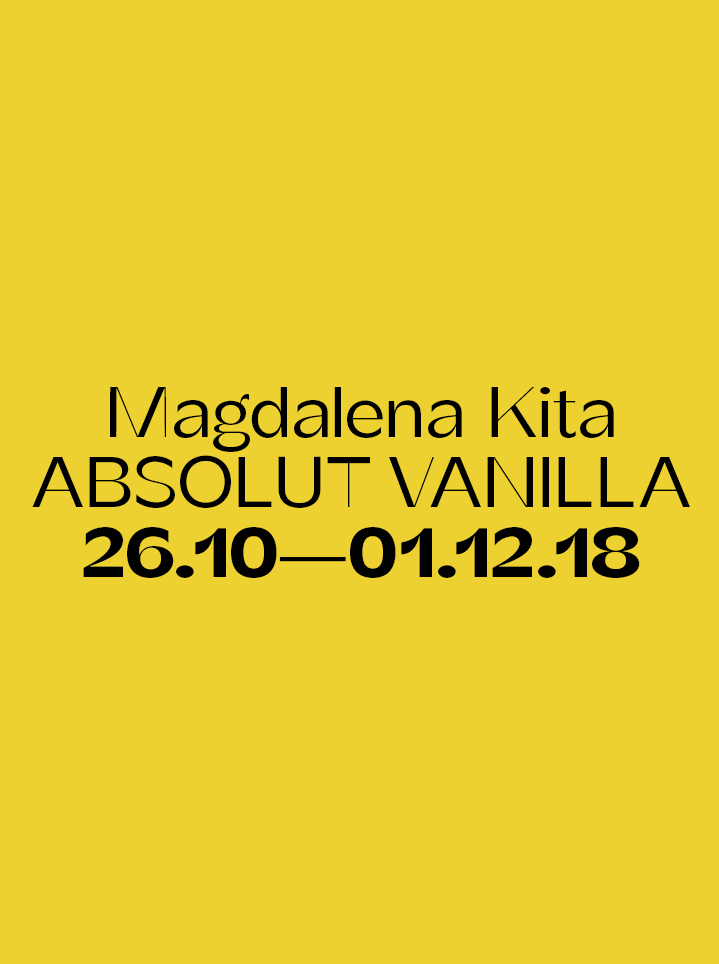 Magdalena Kita ABSOLUT VANILLA - text