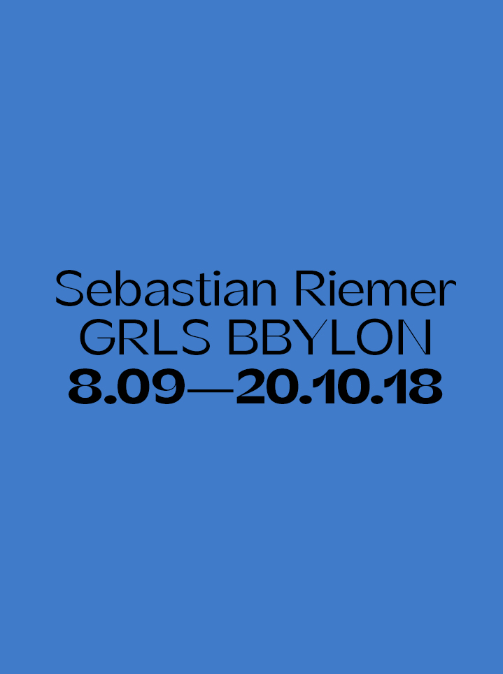 Sebastian Riemer GRLS BBYLON - Text