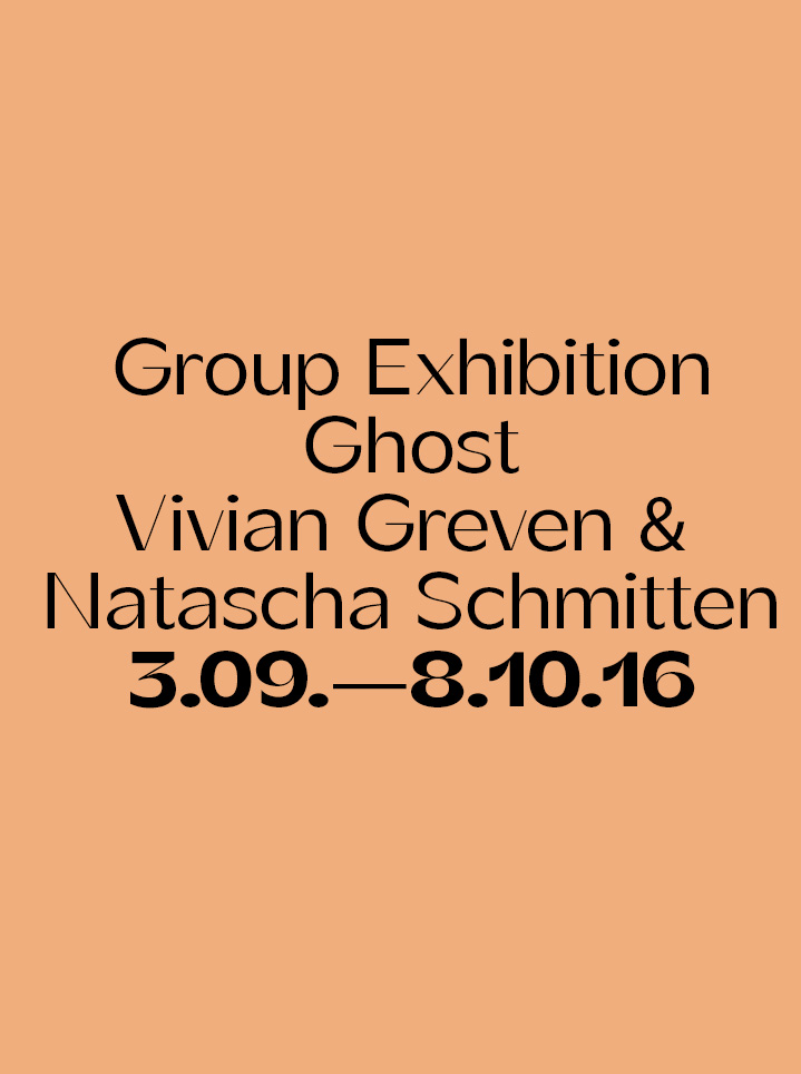 Group Exhibition Ghost - Text