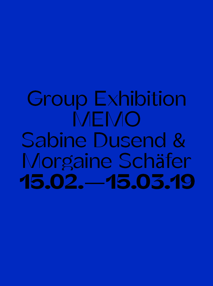 Group Exhibition MEMO - text