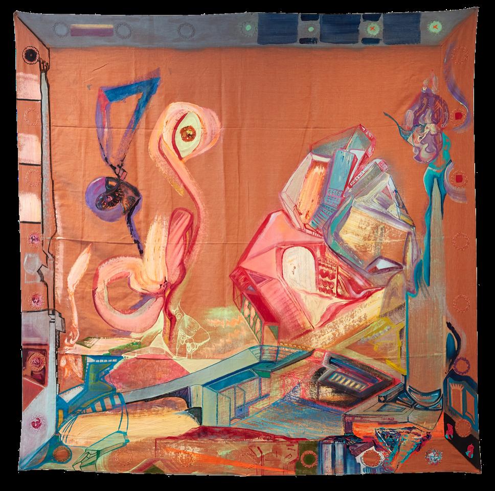 Ugur Ulusoy, quling,-2020, 160-x-160-cm
