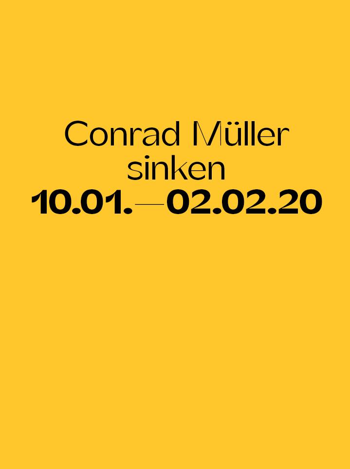 Conrad Müller sinken Text