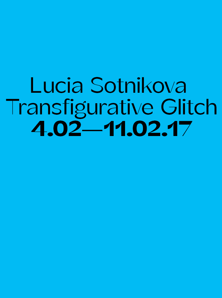 Lucia Sotnikova Transfigurative Glitch - Text