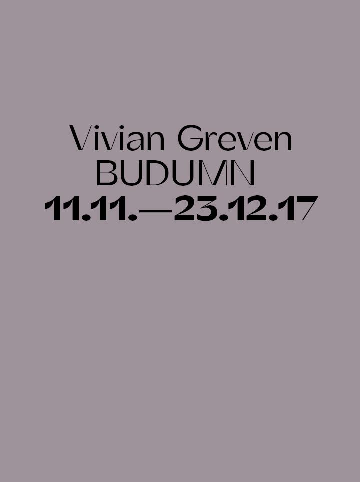Vivian Greven BUDUMN - Text