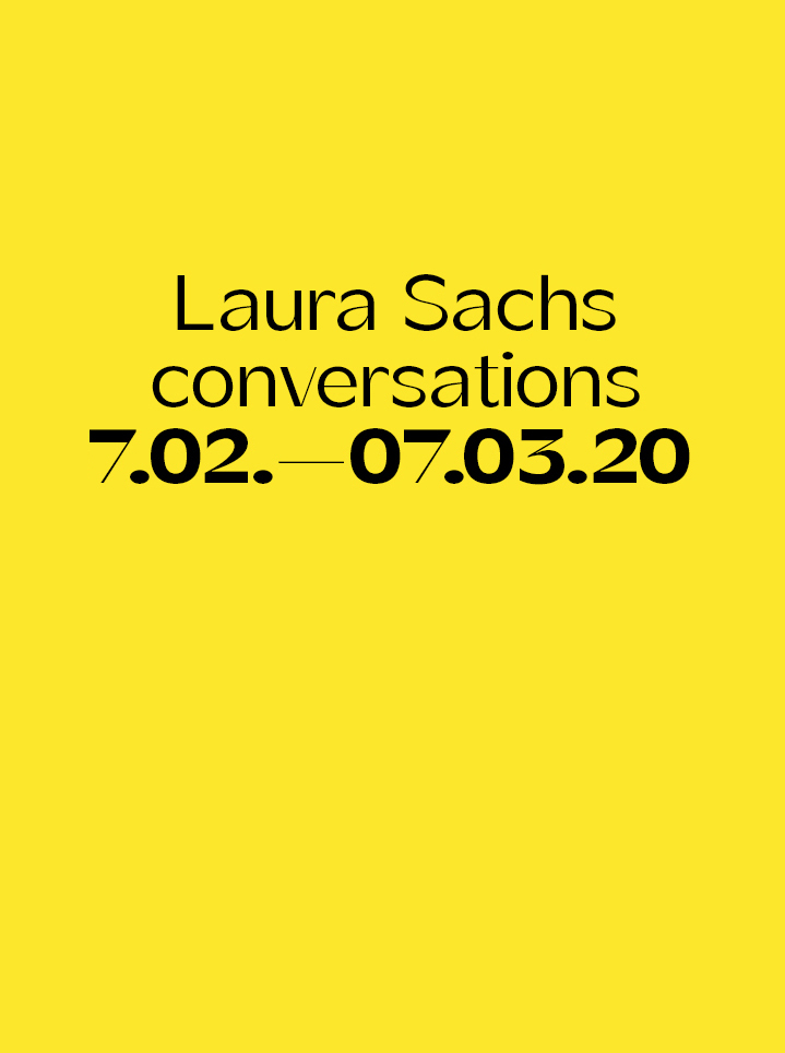 Laura Sachs conversations Text