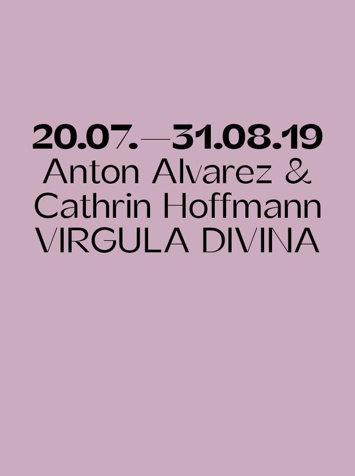 Anton Alvarez & Cathrin Hoffmann VIRGULA DIVINA - Text
