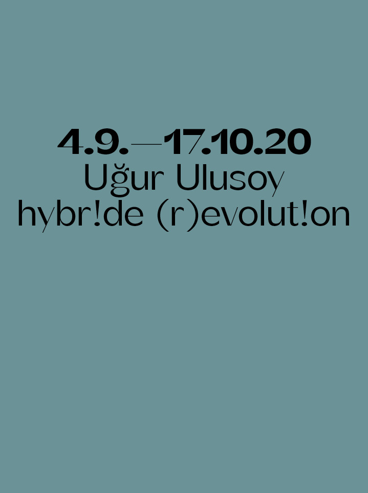 Uğur Ulusoy hybr!de (r)evolut!on Text
