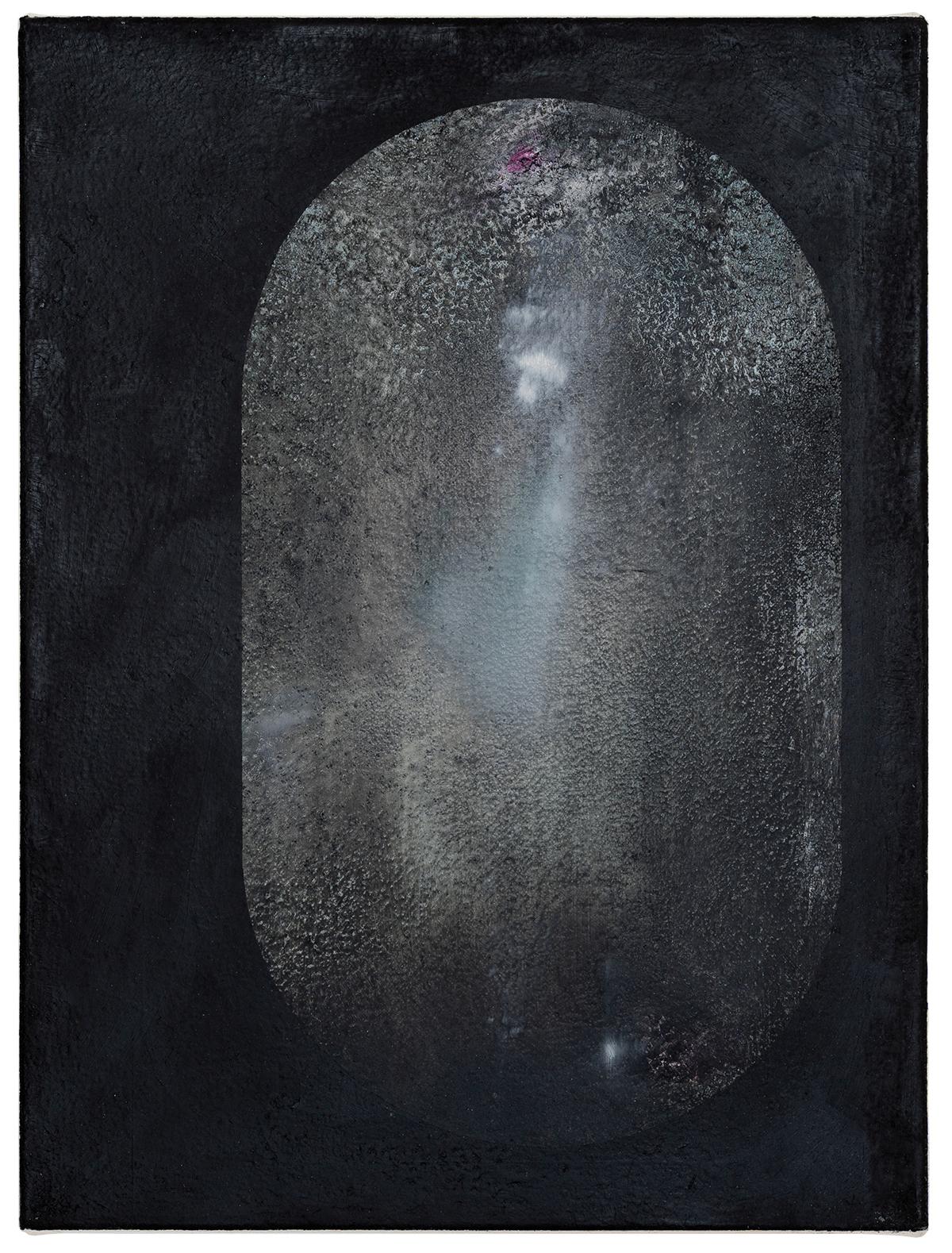 Kate Andrews, diver, 2021, Oil on canvas, 40 x 30 cm