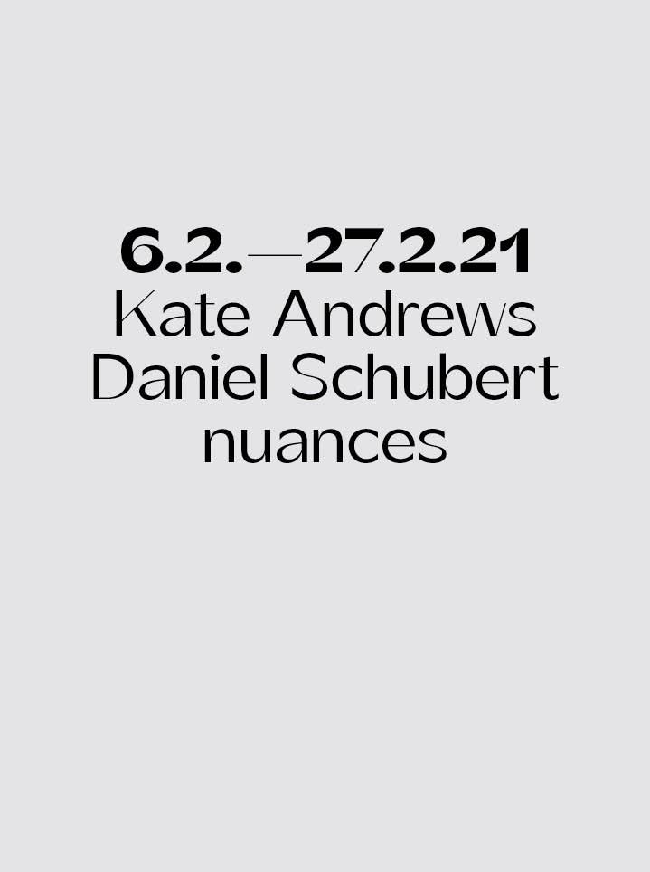 Kate Andrews & Daniel Schubert nuances Text