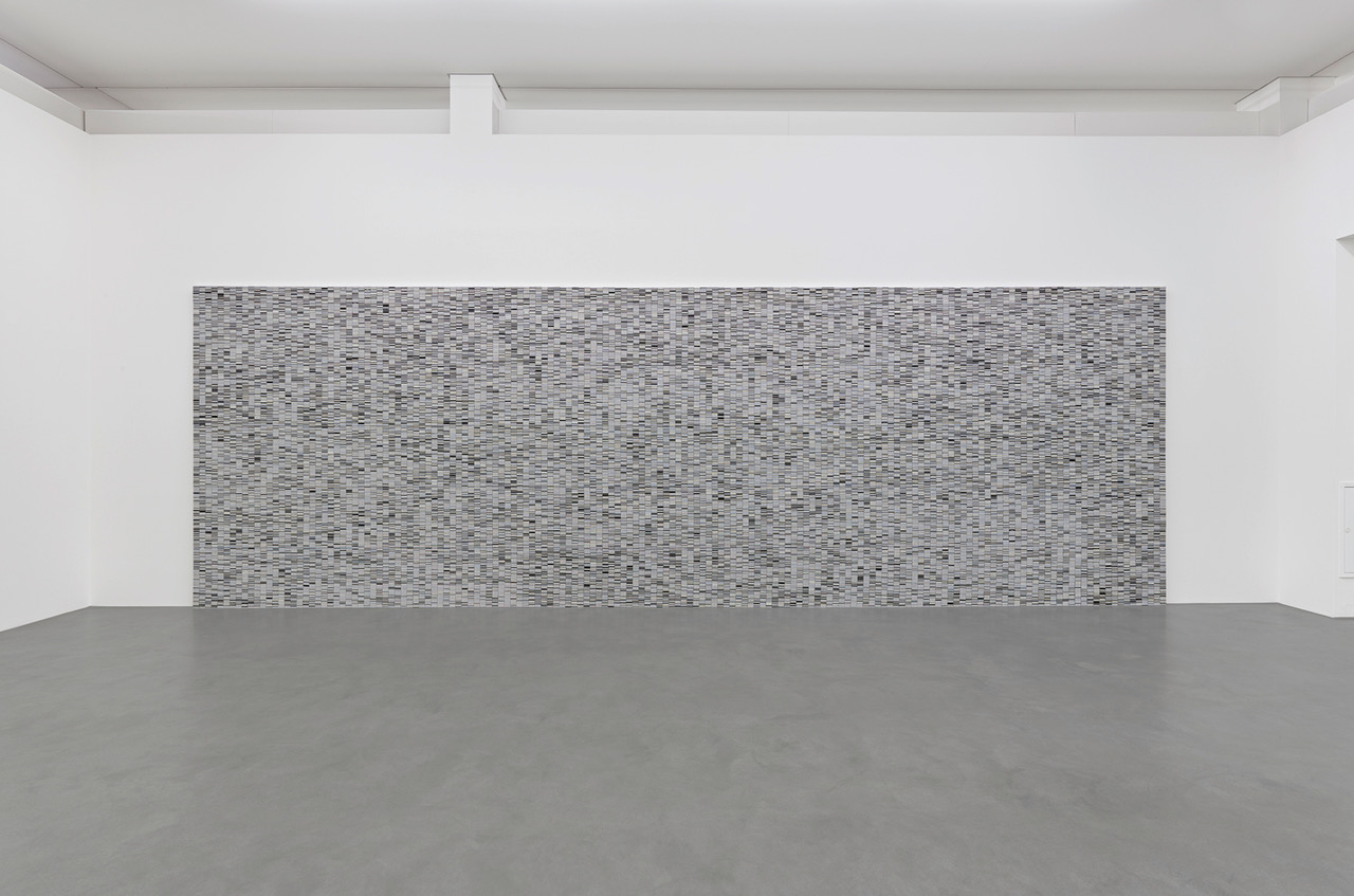 Philipp Goldbach, 2021, Lossless Compression, RUB, Kunstgeschichte, Approx., 110.000 slides, Former slide library of the Art History Institure of the University of Bochum, 300 x 600 x 5 cm