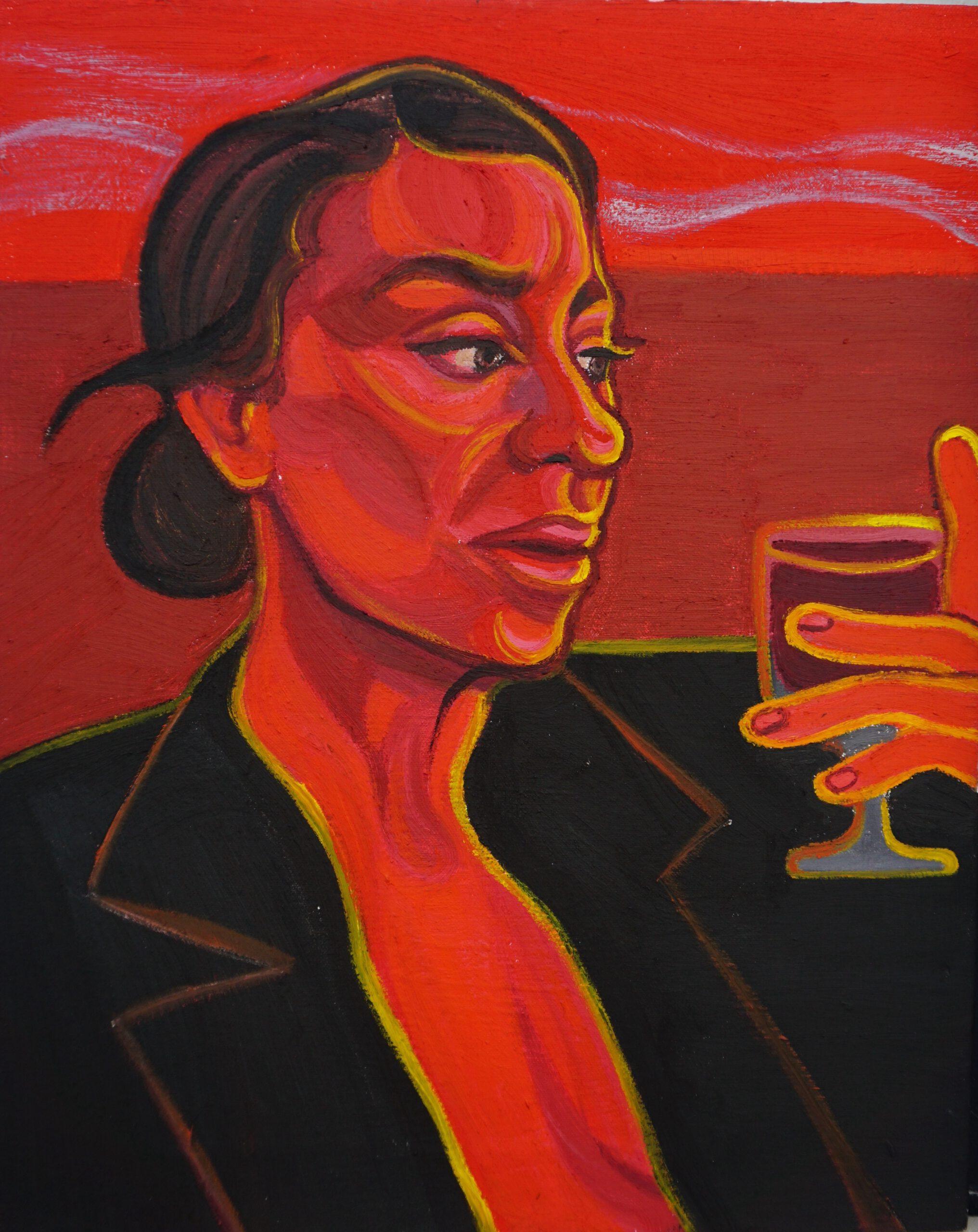 My Aries, 2021, 41 x 51cm, oil on canvas