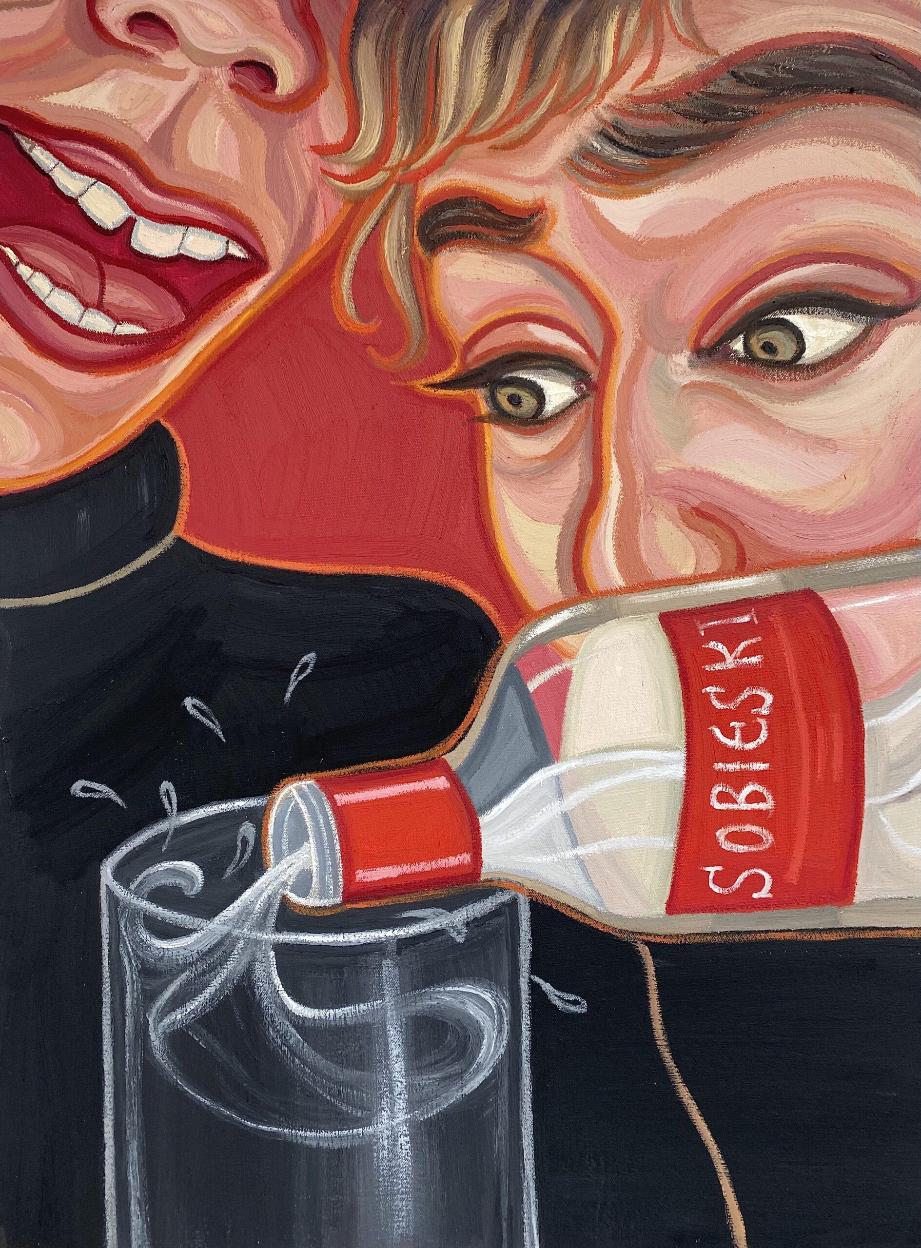 Sobieski, 2021, 60 x 80 cm, oil on canvas